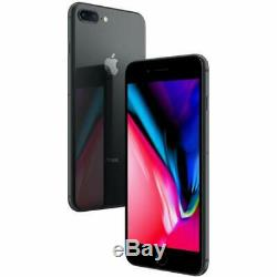 Apple iPhone 8 Plus 64GB Space Gray Factory GSM Unlocked AT&T / T-Mobile
