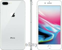 Apple iPhone 8 Plus Silver Factory GSM Unlocked AT&T / T-Mobile 256GB