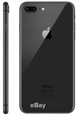 Apple iPhone 8 Plus Space Gray Factory GSM Unlocked AT&T / T-Mobile 256GB