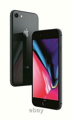 Apple iPhone 8 Space Gray 256GB T-Mobile AT&T Factory GSM Unlocked Smartphone