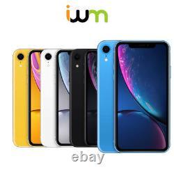Apple iPhone XR 64GB 128GB 256GB Unlocked/ Verizon/ AT&T/ T-Mobile/ Sprint