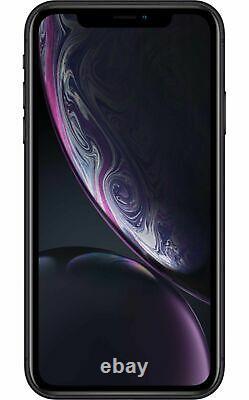 Apple iPhone XR 64GB Fully Unlocked (GSM+CDMA) AT&T T-Mobile Verizon Black