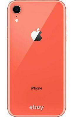 Apple iPhone XR 64GB Fully Unlocked (GSM+CDMA) AT&T T-Mobile Verizon Coral