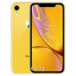 Apple iPhone XR 64GB Fully Unlocked (GSM+CDMA) AT&T T-Mobile Verizon Yellow