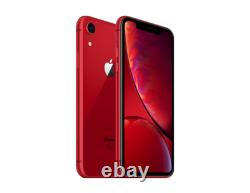Apple iPhone XR 64GB Red Verizon T-Mobile AT&T Fully Unlocked Smartphone