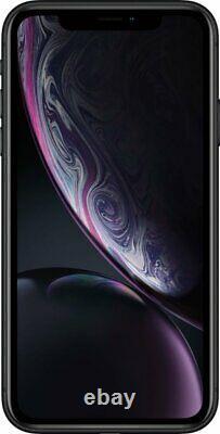Apple iPhone XR Black 64GB Verizon T-Mobile AT&T Fully Unlocked Smartphone