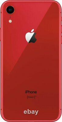 Apple iPhone XR Red 128GB Verizon T-Mobile AT&T Fully Unlocked Smartphone