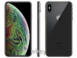 Apple iPhone XS 64GB Fully Unlocked (GSM+CDMA) AT&T T-Mobile Verizon Space Gray