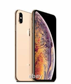 Apple iPhone XS 64GB Gold Verizon T-Mobile AT&T Fully Unlocked Smartphone