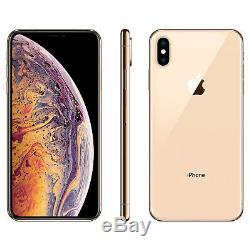 Apple iPhone XS Max 64GB Gold Verizon T-Mobile AT&T Fully Unlocked Smartphone