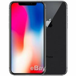 Apple iPhone X 256GB (Factory GSM Unlocked AT&T / T-Mobile) Smartphone