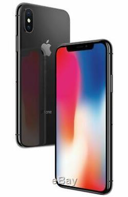 Apple iPhone X 64GB Mobile Space Gray Smart Phone iOS Grey Black Unlocked A1901