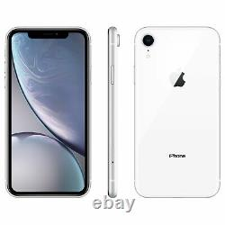 Apple iphone XR 128GB White Verizon T-Mobile AT&T Fully Unlocked Smartphone