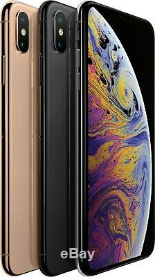 Apple iphone XS MAX 64GB Space Gray Gold Silver T-Mobile Smartphone A+