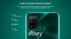DOOGEE N20 Pro 6+128GB 4G Smart Phone SIM Free Android 10 8-core 4400mAh Green