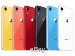 FACTORY UNLOCKED iPhone XR 6.1 CDMA GSM ATT T-Mobile Cricket Verizon Sprint