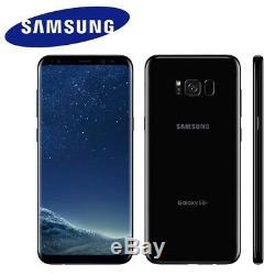 GSM Unlocked Samsung Galaxy S8+ Plus G955U G955U1 Black T-Mobile AT&T Average