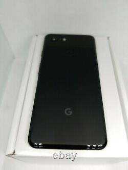Google Pixel 3 64GB Just Black (Unlocked) Verizon-T-Mobile Overstock SALE