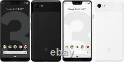 Google Pixel 3 XL 64GB 128GB Fully Unlocked, Verizon, T-Mobile, AT&T