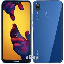 Huawei P20 Lite 64GB Dual SIM 4G RAM Mobile Smartphone Klein Blue