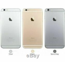 IPhone 6 (UNLOCKED ATT MetroPCS T-Mobile) Gray Gold Silver 16GB 64GB 128GB