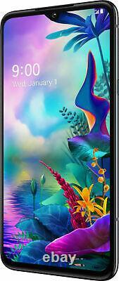 LG G8X ThinQ LMG850UM9 128GB Black (Sprint T-mobile AT&T) A 9/10 GSM Unlocked