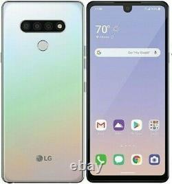LG Stylo 6 LMQ730TM 64GB Holographic White Factory Unlocked T-mobile AT&T