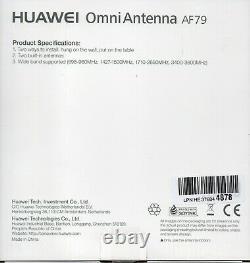 Motorhome/Caravan mobile Wi-Fi kit v7. Huawei B525 CPE Huawei +AF79 MIMO antenna