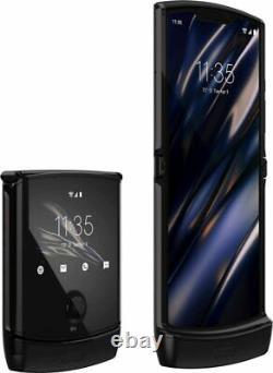 Motorola Razr 128GB Noir Black Flip Phone XT2000-2 T-Mobile AT&T GSM Unlocked