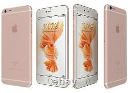 NEW Apple iPhone 6S+ Plus 128GB Rose Gold Unlocked Verizon T-Mobile AT&T