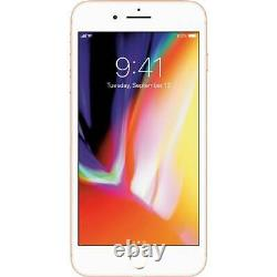 NEW Apple iPhone 8 Plus 64GB Gold Unlocked T-Mobile AT&T Metro A1897