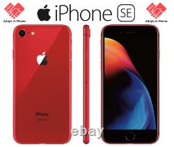 NEW Apple iPhone SE 2nd 2020 128GB Red Unlocked Verizon T-Mobile AT&T