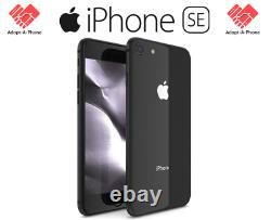 NEW Apple iPhone SE 2nd 2020 64GB Black Unlocked Verizon T-Mobile AT&T Mint