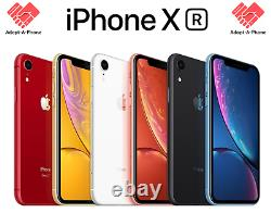 NEW Apple iPhone XR 256GB Black Unlocked Verizon AT&T T-Mobile Cricket