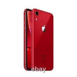 NEW Apple iPhone XR 256GB Red Unlocked Verizon AT&T T-Mobile Cricket