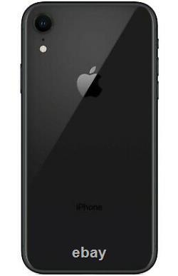 NEW Apple iPhone XR 64GB Black Unlocked Verizon AT&T T-Mobile Cricket