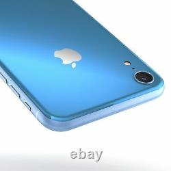 NEW Apple iPhone XR 64GB Blue Unlocked Verizon AT&T T-Mobile Cricket Metro