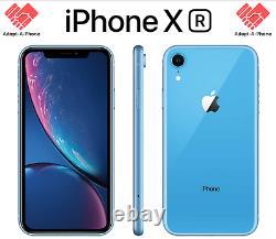 NEW Apple iPhone XR 64GB Blue Unlocked Verizon AT&T T-Mobile Cricket Mint