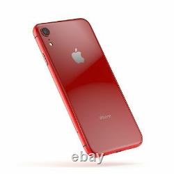 NEW Apple iPhone XR 64GB Red Unlocked Verizon AT&T T-Mobile Cricket