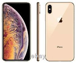 NEW Apple iPhone XS Max 64GB Gold Unlocked Verizon AT&T T-Mobile Cricket