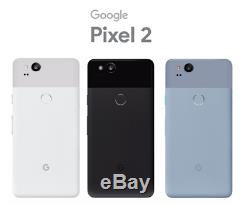 NEW Google Pixel 2 64GB Clearly White Unlocked Verizon Sprint AT&T T-Mobile