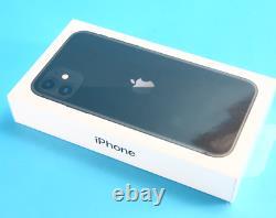 NEW SEALED Apple iPhone 11 64 GB Mobile Smart Phone Black