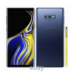 NEW Samsung Galaxy Note 9 128GB Ocean Blue GSM Unlocked AT&T T-Mobile Metro