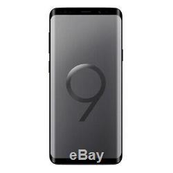 NEW Samsung Galaxy S9 64GB Midnight Black Unlocked AT&T T-Mobile Cricket
