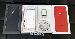 NEW UNUSED Factory UNLOCKED iPHONE 8 64GB 256GB Sprint AT&T T-MOBILE Verizon