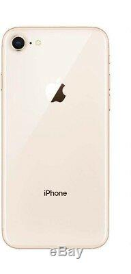 New Apple Iphone 8 256gb Gold Factory Unlocked Cdma Gsm At&t Verizon T-mobile