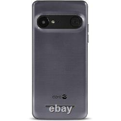 New Doro PhoneEasy 8035 Steel 16GB SOS Android Bluetooth Unlocked Mobile Phone