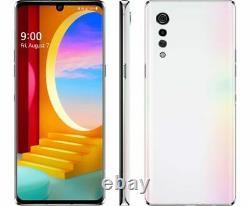 New LG Velvet 4G & 5G LMG900TM 128GB Pink White(T-Mobile + GSM Unlocked) Phone
