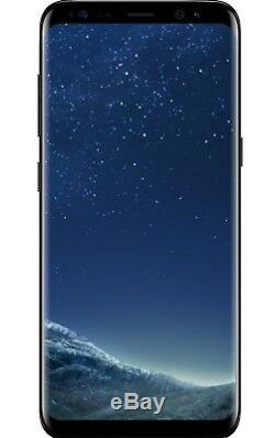 New Other Samsung Galaxy S8 G950U G950U1 Black Unlocked AT&T T-Mobile Cricket