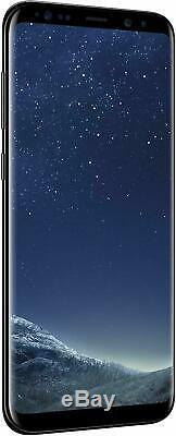 New Samsung Galaxy S8 Plus + 64GB Unlocked Sim Free Mobile Smart Phone Black